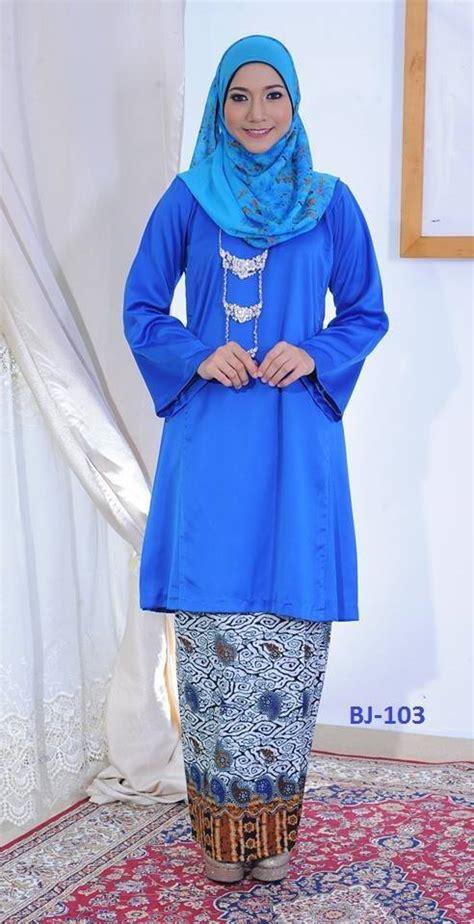 Baju Kurung Pahang Royal Blue diskaun 18 baju kurung pahang pesak gantung syaisya