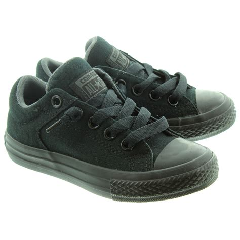 chuck shoes converse chuck high lace shoes in black