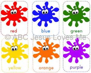 color flashcards free abc jesus me printable color flashcards