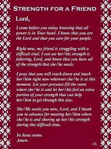 Words Of Encouragement For A Friend In Need by Strength For A Friend Prayer Ann A Friend Of Jesus 2013