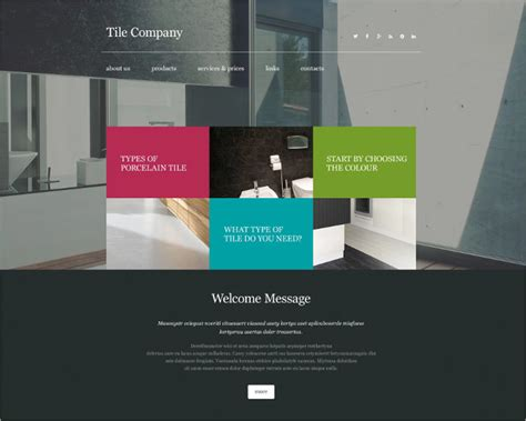 Best Interior Design Company Websites by Interior Design Website Themes Templates Free