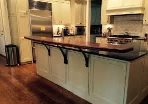 raised bar countertop raised bar tops j aaron