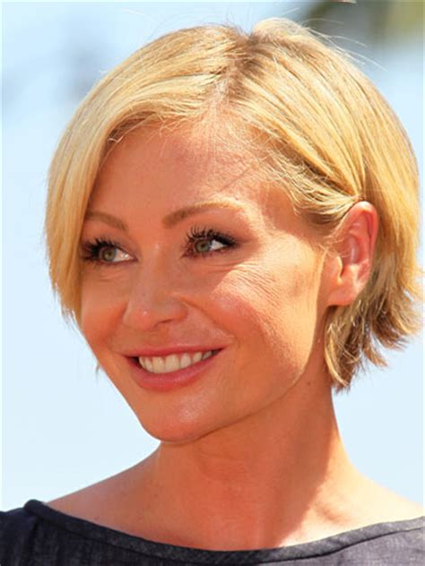 portia de rossi new haircut i m probably crazy cutting my hair and making new friends