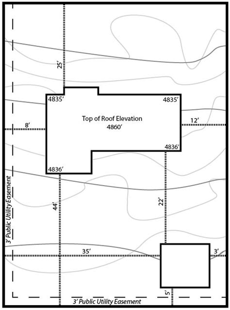 How To Property Line Can I Build A Shed by Zoning And Setbacks Cottonwood Heights
