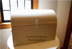 Gold Wedding Gift Card Box - xl gold wedding card box trunk chest gift card holder with crystal brooch tradesy