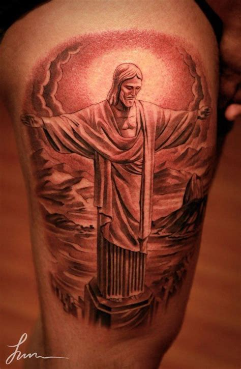 jesus piece tattoo jesus amazing artwork by jun cha
