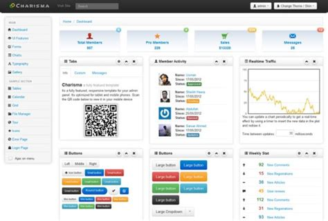 bootstrap themes metro 20 free bootstrap admin templates