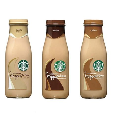 botol starbucks coffee 300ml 1 btl starbucks frappuccino 9 5 oz glass bottles pack of 12