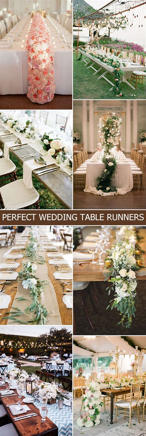 Wedding Trends: 12 Table Runners Centerpiece Decoration