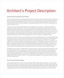 Architectural Designer Description project description template 6 free word pdf document