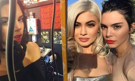 kylie jenner new tattoo kendall jenner unveils new lip