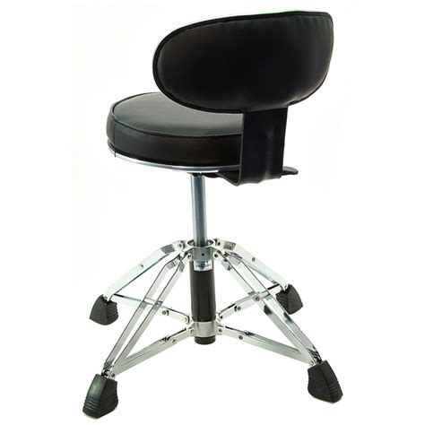 sgabello fender high grade drum throne with backrest at gear4music