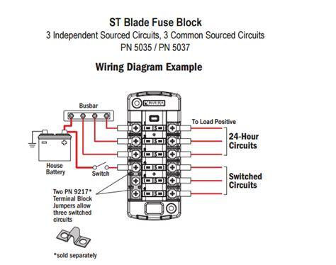 st blade fuse block wiring diagrams wiring diagram