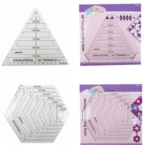 american patchwork ruler template drawing patchwork tools