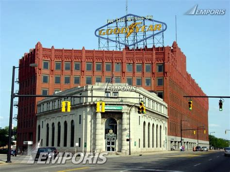 rubber st city goodyear akron 207202 emporis