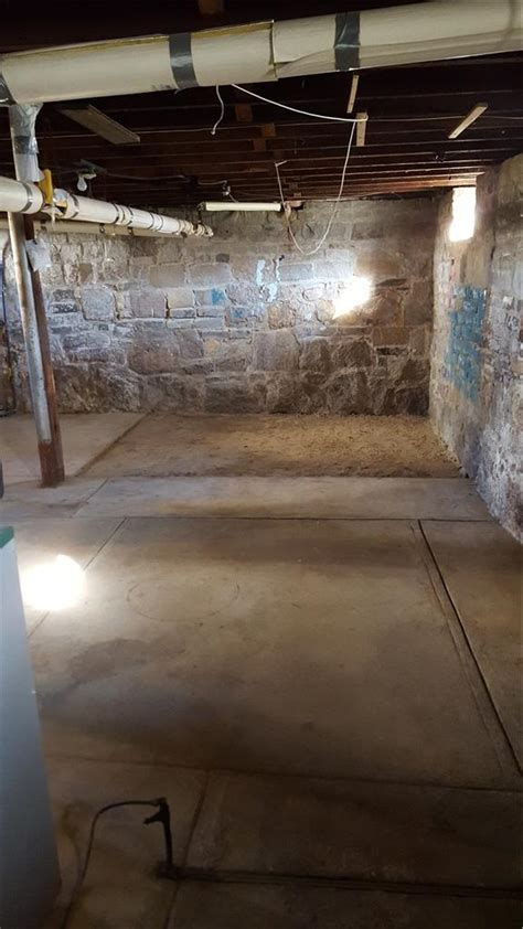 dryzone basement systems dryzone basement systems basement waterproofing before and after photos