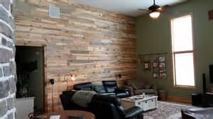 Beetle kill pine wall paneling