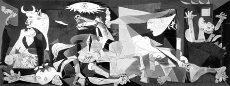 picasso works guernica artist reimagines picasso s guernica with symbols of the