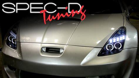 Toyota Camry 2005 Headlight Bulb Specdtuning Installation 2000 2005 Toyota Celica