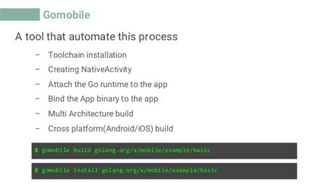 golang android android is going to go android and golang