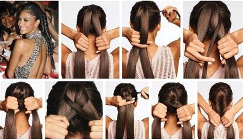 how to make easy hairstyle for hair how to make easy and stylish hair style step by step diy