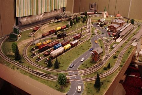 How To Ho 2 Train Layouts 4x8 Old Marklin Layout Final Modern Design Ho
