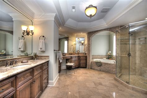 luxurious master bathrooms south charlotte luxury home for sale in gated skyecroft
