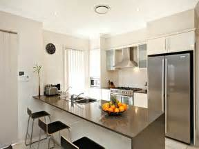 Galley Style Kitchen Ideas Modern Galley Kitchen Design Using Stainless Steel