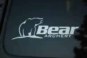 bow hunting window decals bear archery vinyl sticker decal v77 bow hunting hunt