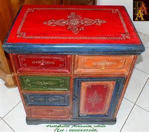 meuble peint emboss 233 jn7 la626 meubles indiens meuble