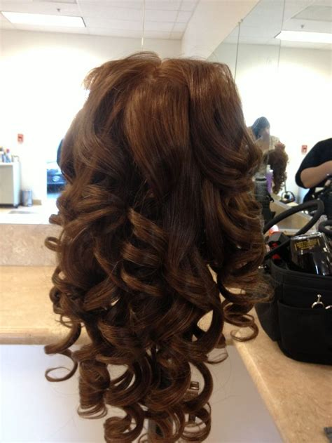 wand hairstyles for prom wand curls for prom www pixshark com images galleries