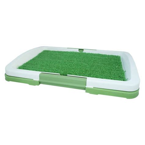 potty pad indoor doggie bathroom pet dog toilet mat indoor restroom training grass potty
