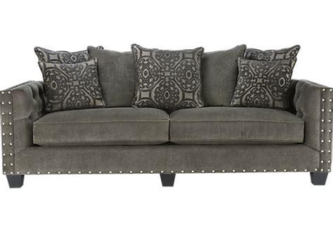 cindy crawford sidney road sofa cindy crawford home sidney road gray sofa sofas gray
