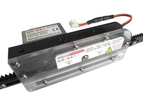 neuro rack rack and pinion linear actuator cosmecol