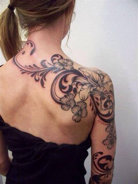 tattoo from neck to shoulder 1000 ideas about neck tattoos women on pinterest neck
