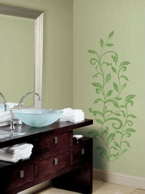 painting bathroom walls ideas bathroom ideas for decorating with green wall paint and curtains