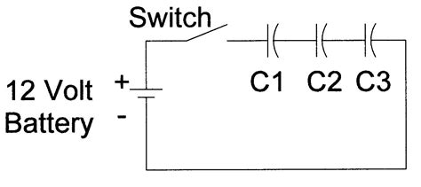 capacitors in circuits exles wiring capacitors in series 28 images circuit analysis why is charge the same on every