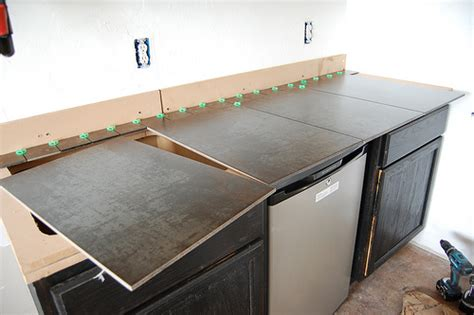 How To Build A Kitchen Counter by Large Porcelain Tile Kitchen Countertops Rapflava