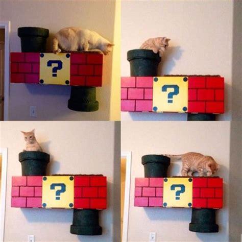 Mario Cat Shelf mario inspired cat shelf 10 pics izismile