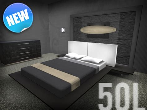modern bedroom set sale second life marketplace modern oceana modern bedroom set sale