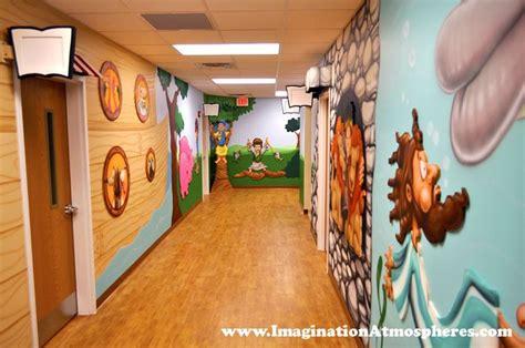 bible story murals  childrens church sunday school