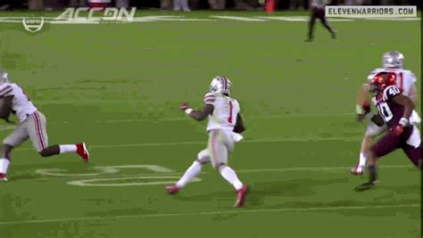 Braxton Miller Meme - gold way gif find share on giphy
