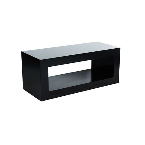 miami coffee table black unik furniture hire durban