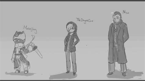 9 Character Sketches by Character Sketches 2 8 15 By Blazingcobalt On Deviantart