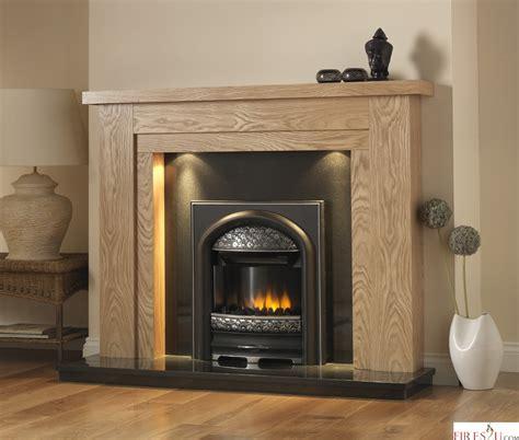Fireplace Oak by Pureglow Hanley Oak Fireplace Suite Surround Backpanel