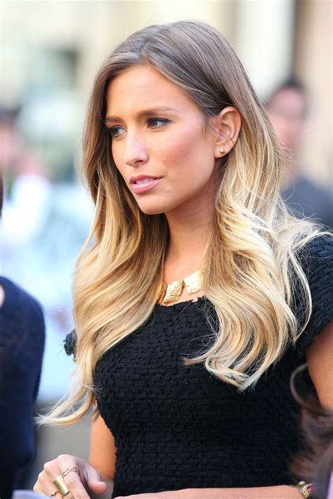 ombre hair growing out renee bargh mayipleasehave