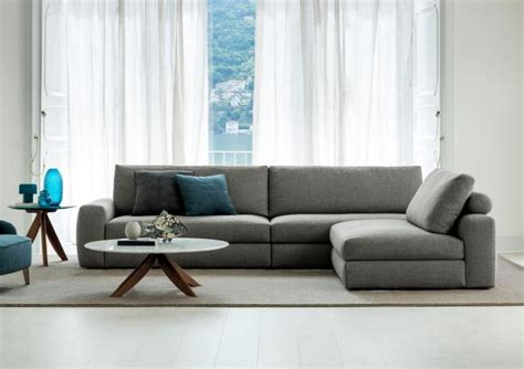 divani de divano con penisola removibile joey berto salotti