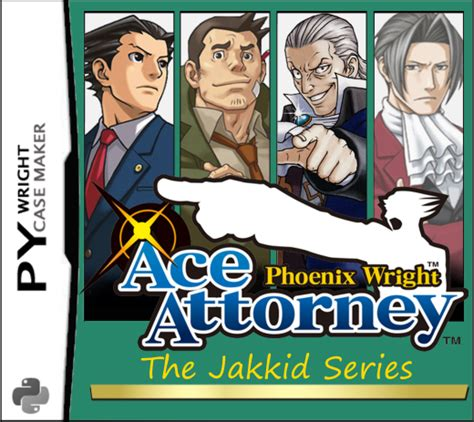 Court Records Ace Attorney Wright The Jakkid Series Complete