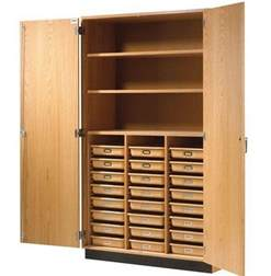 Shelf Cabinet With Doors Wood Storage Cabinets With Doors And Shelves Home Furniture Design