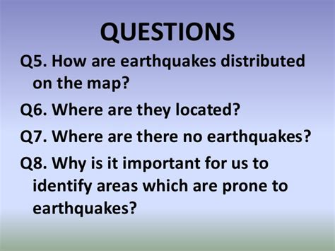 earthquake questions science 10 module 1 activity no 2 let s mark the boundaries